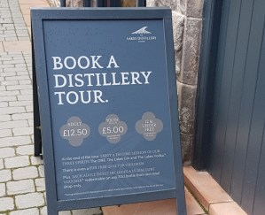 Book a distillery tour at The Lakes Distillery in Cumbria,