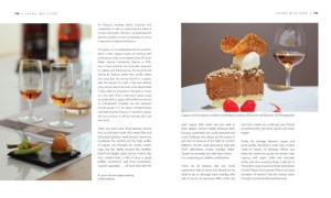 Cognac and food pages in World of Cognac book review