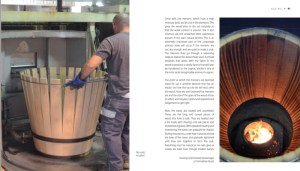 Cognac barrels sample pages in World of Cognac book review