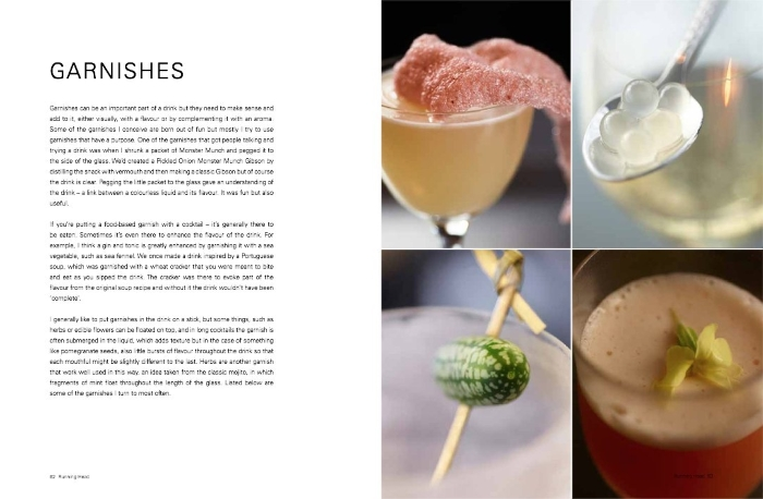 The Modern Cocktail Book Review garnishes