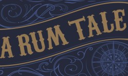 Detail from the cover of the book A Rum Tale