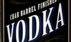 Heritage Distilling Char Barrel Finished vodka bottle label
