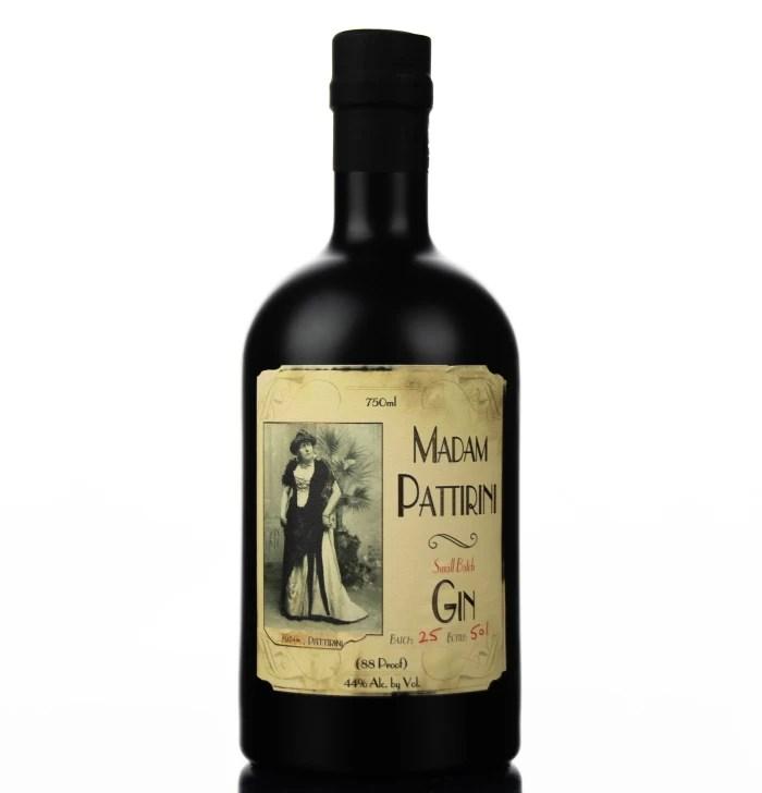 Madam Pattirini Gin bottle