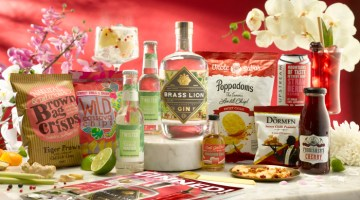 Craft Gin Club August Singapore Box Contents