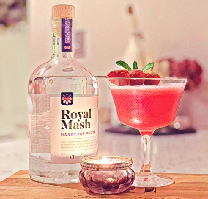 Royal Mash Vintage Vodka with cocktail