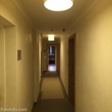 الممرات الى الغرف