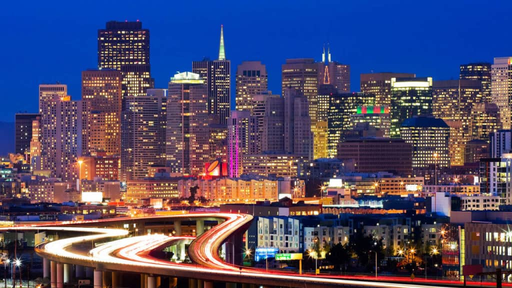 صورة لمدينة سان فرانسيسكو