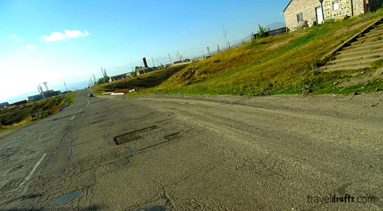 Roads in Armenia -
