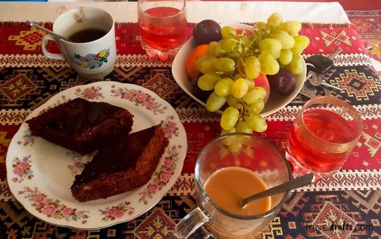 breakfast in Armenia
