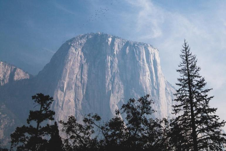 El Capitan in Yosemite Valley National Park, USA
