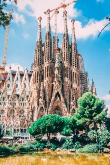 The Sagrada Familia (pexels) in Barcelona
