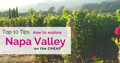 Napa Valley on the Cheap