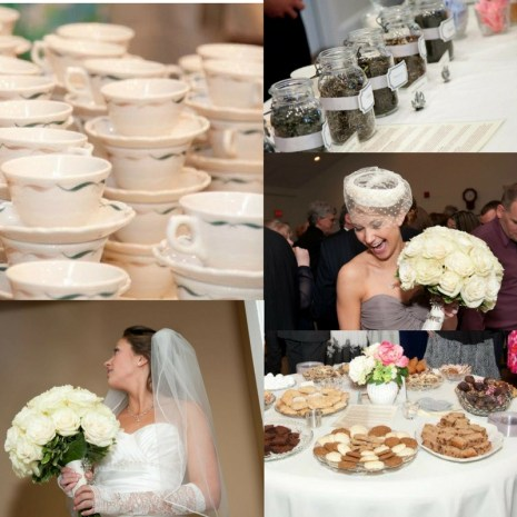My wedding high tea