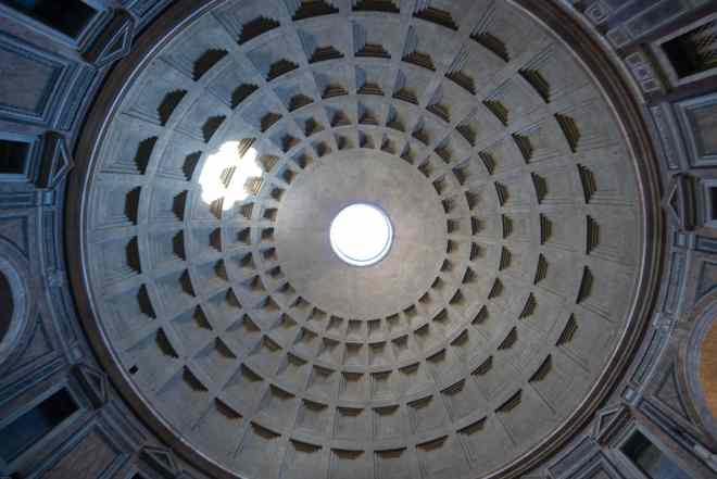 Pantheon roof