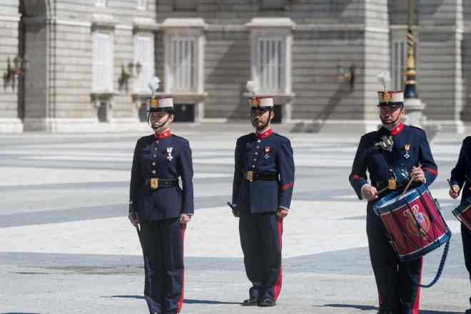 Royal Spanish guard band