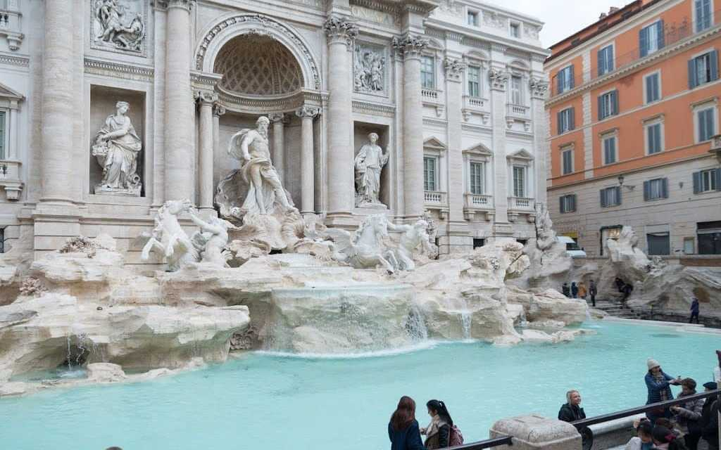 Frozen Rome to cool you down