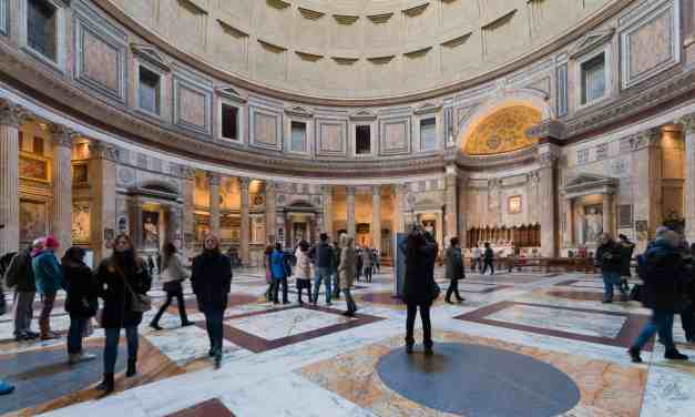 Pantheon to start charging an admission fee