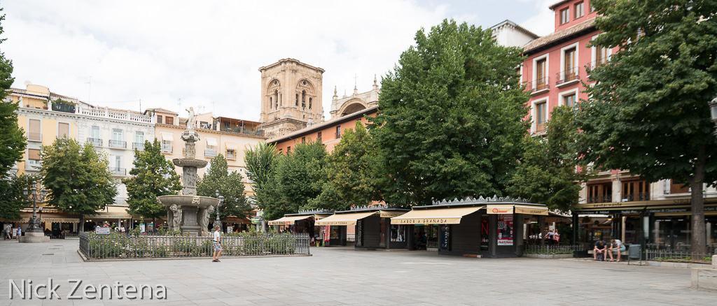 Granada Spain town square