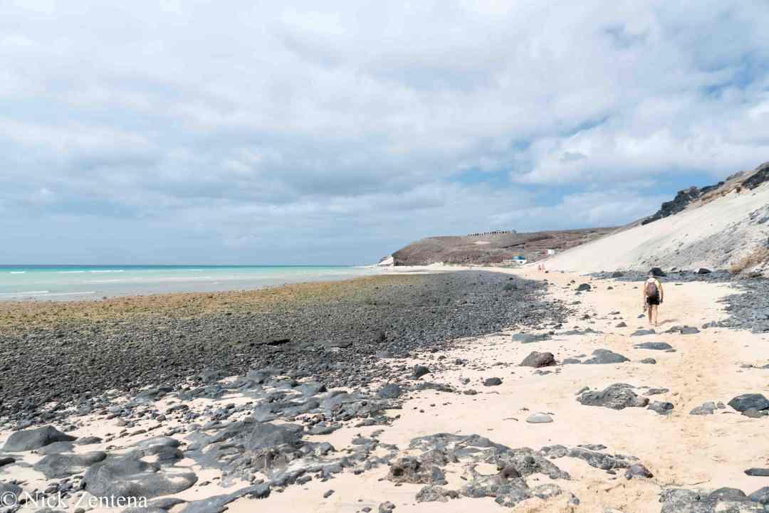Playa tierra Dorada Morro Jable