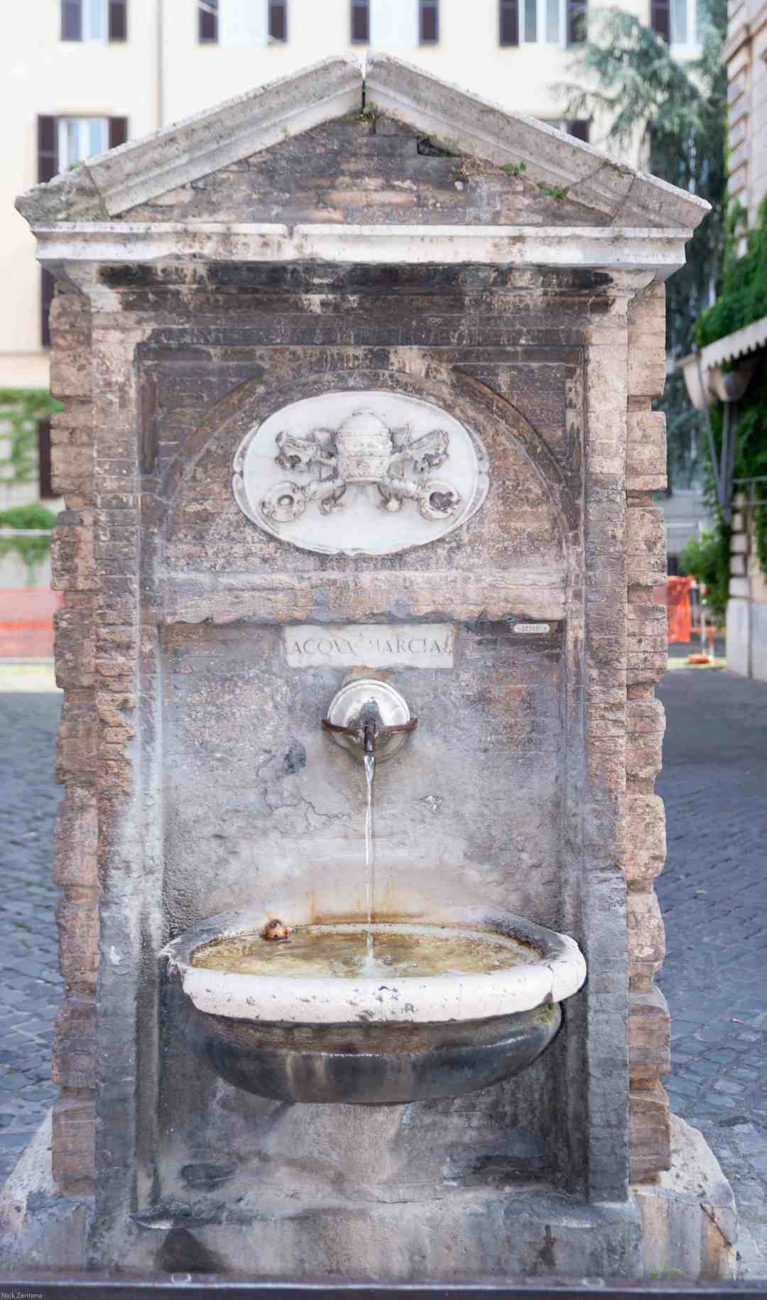 Vatican vintage drinking fountain