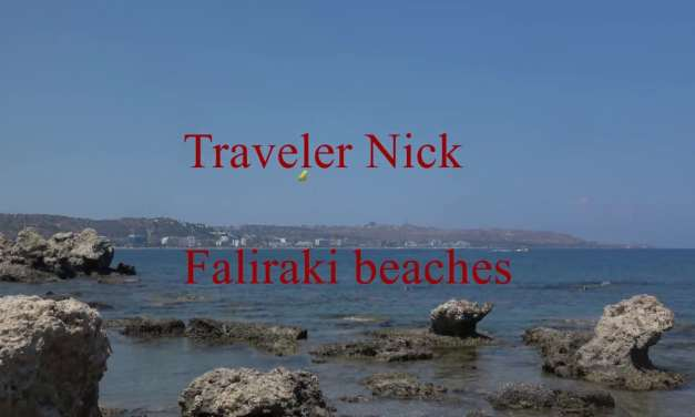 Faliraki Rhodes Greece beaches