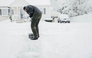 Image result for winter shoveling safety tips