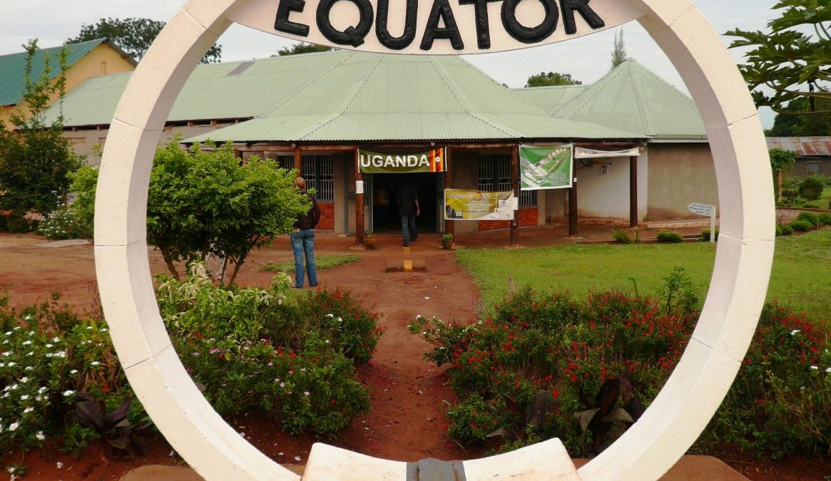 The Equator Line in Uganda - The Pearl of Africa