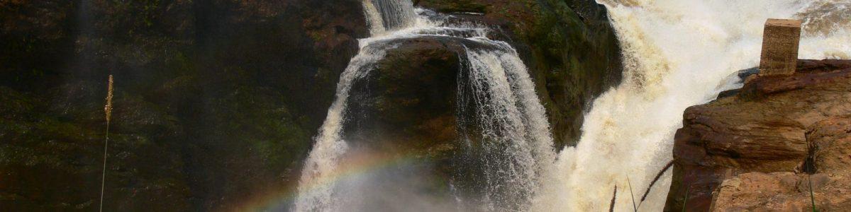 At Murchison Falls