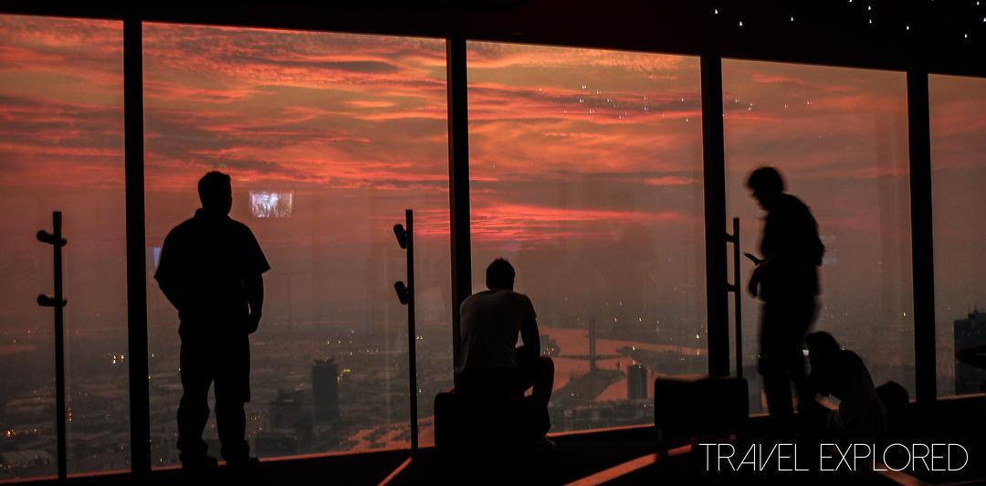 Melbourne - Eureka Skydeck Sunset