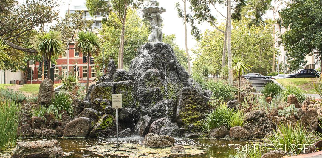 Melbourne - River Gods Fountain