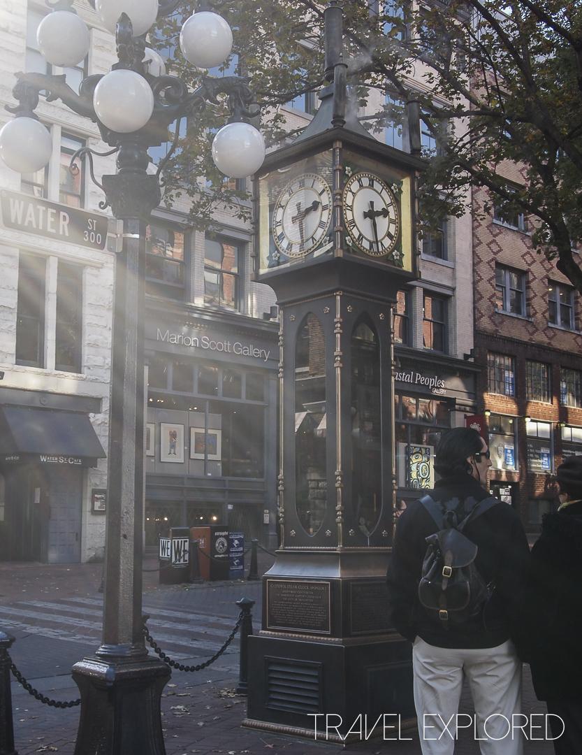 Vancouver - Gastown Clock