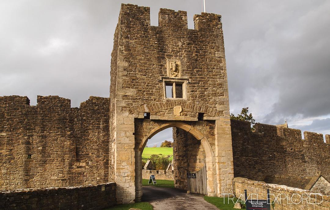Farleigh Hungerford Castle Gatehouse