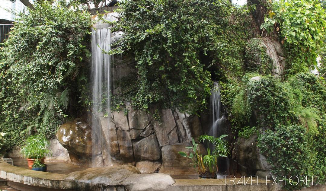 Hong Kong - Kowloon Park Waterfall