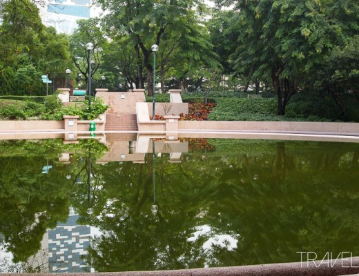 Hong Kong - Kowloon Park Reflection Pool