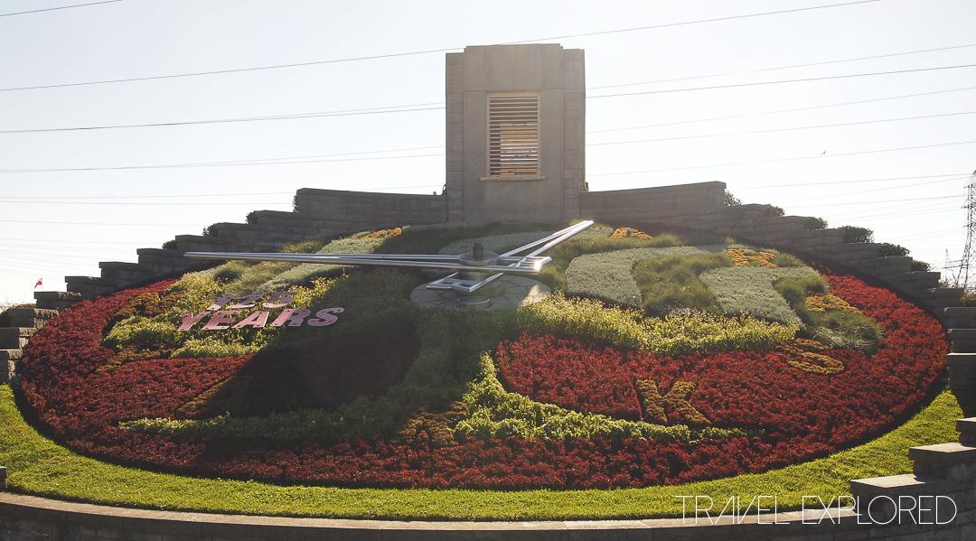 Niagara - Floral Clock