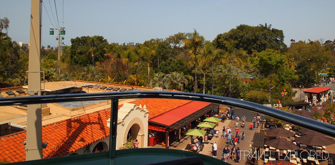 San Diego Zoo - Skyfari Chairlift View