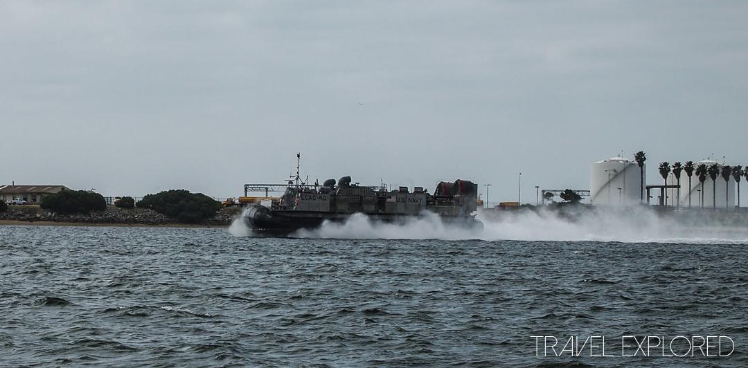 San Diego - US Navy Hovercraft