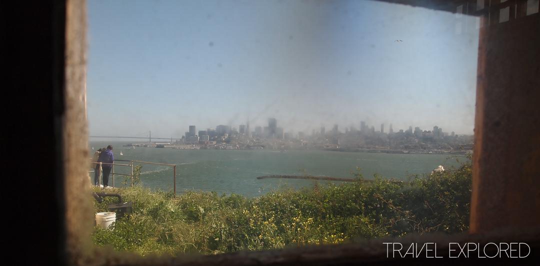 San Francisco - Alcatraz City View