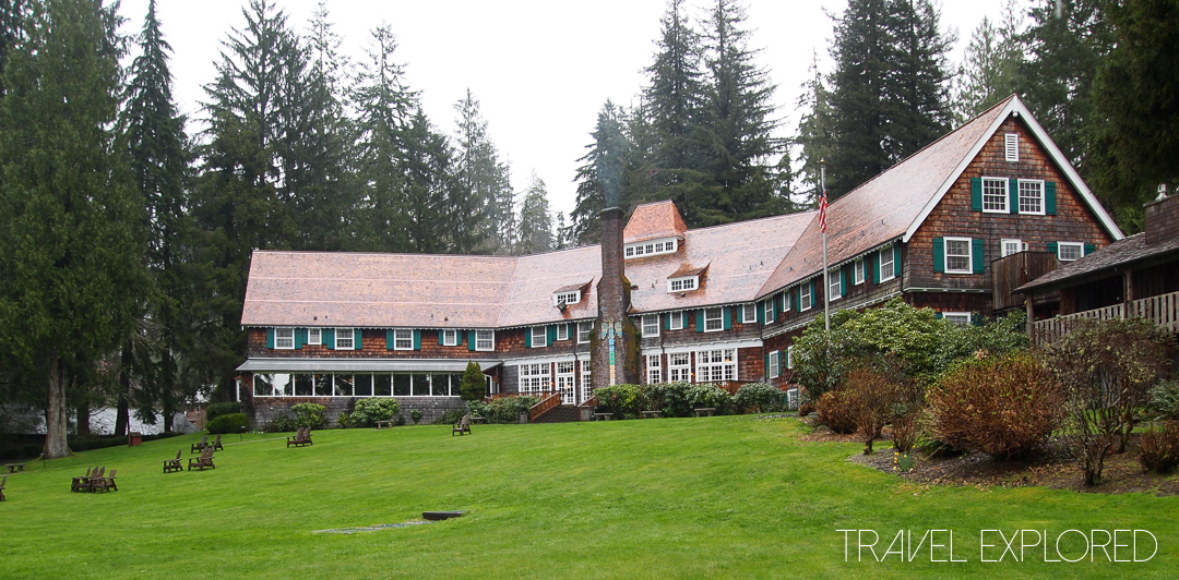 Seattle - Lake Quinault Lodge