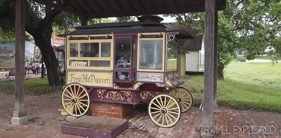 Dallas Historic Village - Popcorn Cart