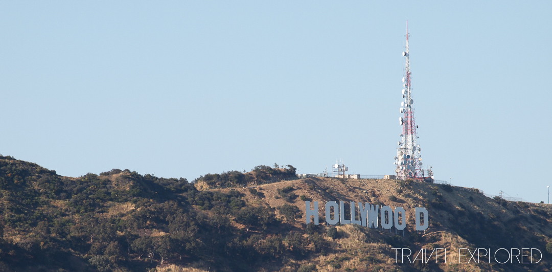 Los Angeles - Hollywood Sign from Mulholland Drive