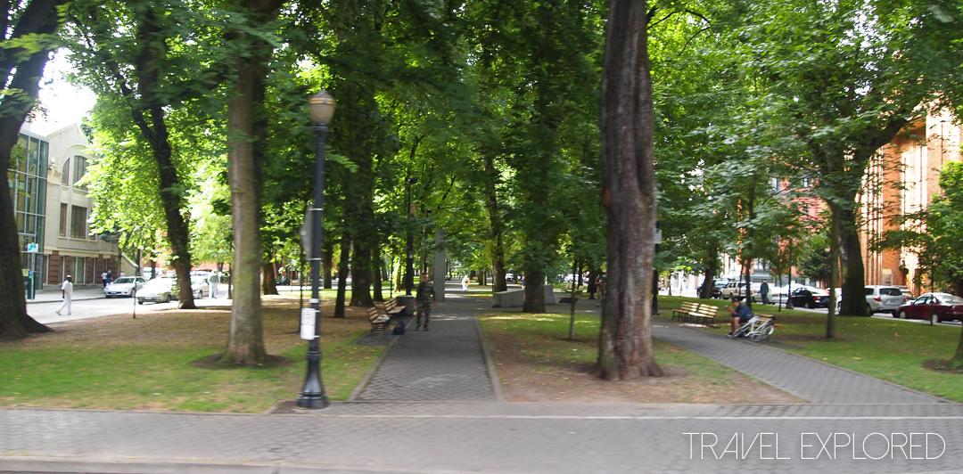 Portland - South Park Blocks