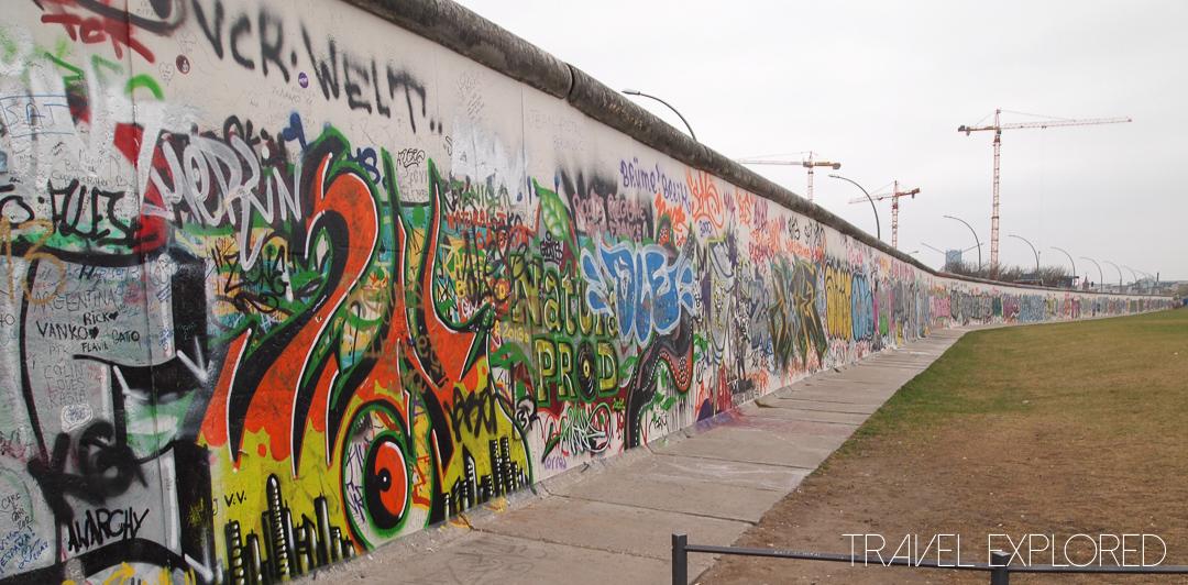 Berlin - Berliner Mauer (East Side Gallery)