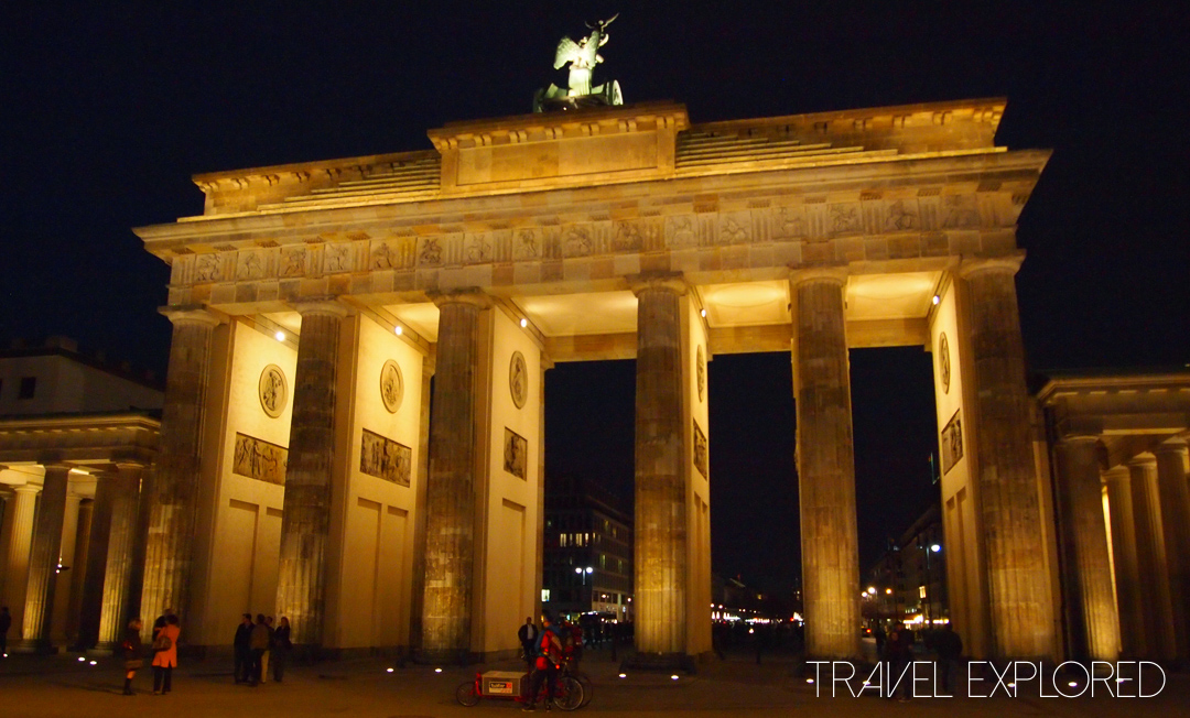 Berlin - Brandenburg Gate Nighttime