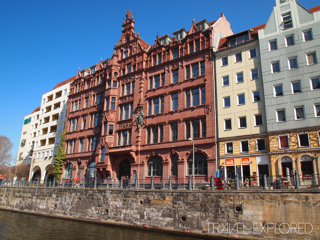 Berlin - Buildings along the River Spree