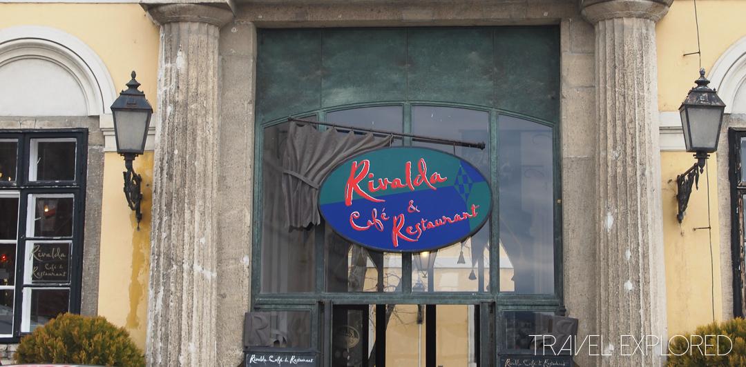 Budapest - Rivalda Cafe & Restaurant