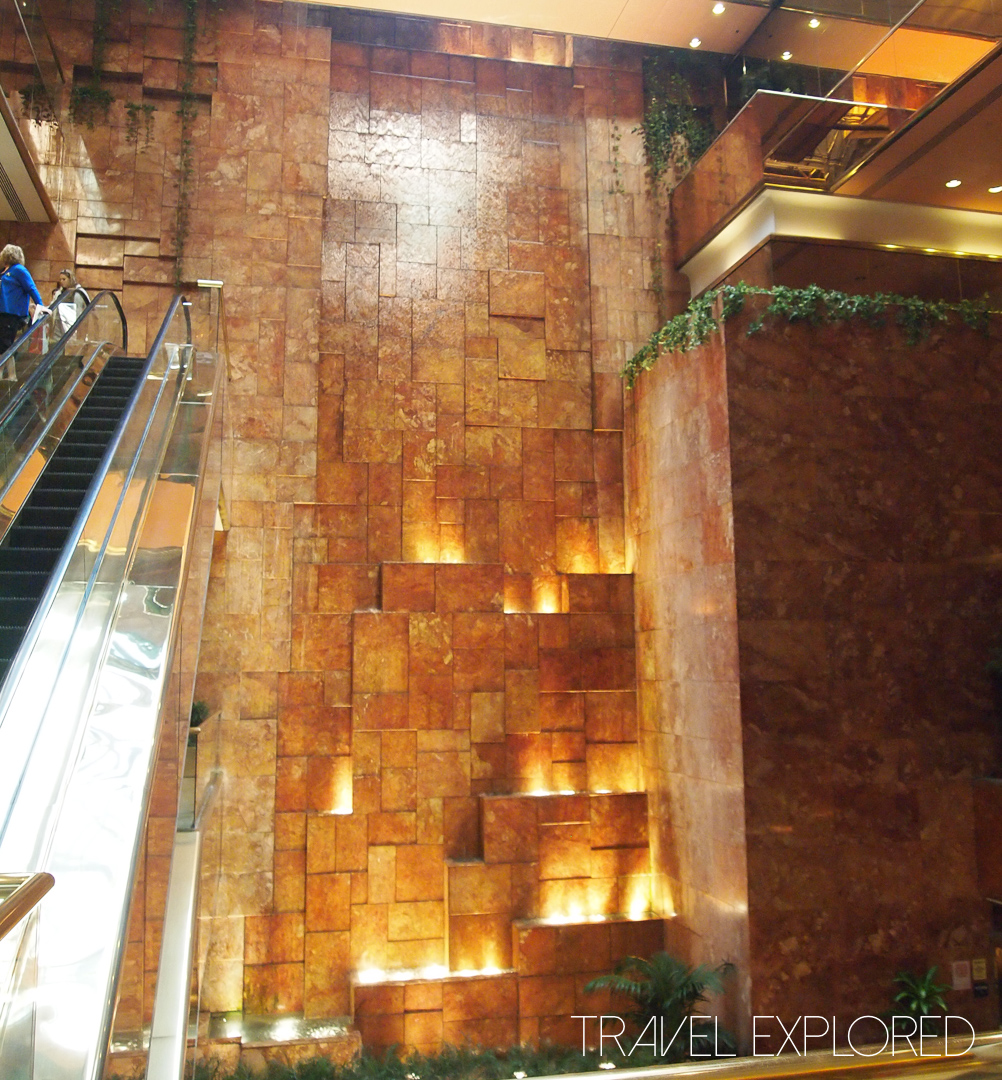 New York - Trump Tower Foyer