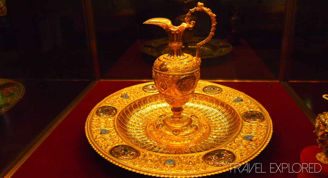 Vienna - Gold Ewer and Basin