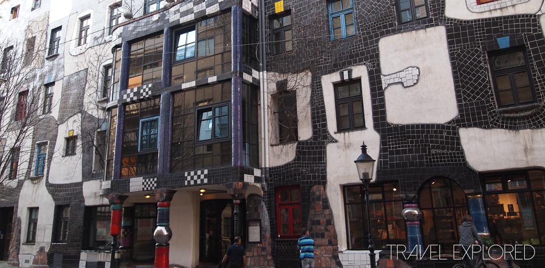Vienna - Museum Hundertwasser in Kunst Haus