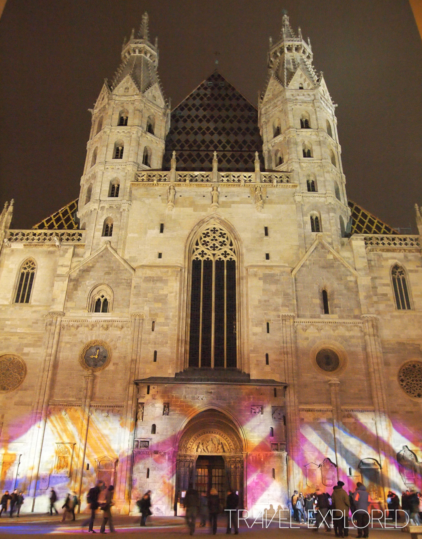Vienna - St Stephens Cathedral by Night